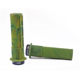DMR Brendog Death Bike Grips thin green/olive